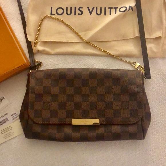 Louis Vuitton Bags   Lv Favorite Mm   Poshmark 11a67bd31b